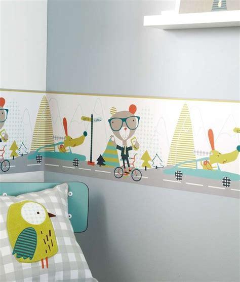 chambre b b papier peint frise papier peint chambre bébé fille chambre idées de