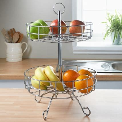 tier fruit basket kitchen accessories bm