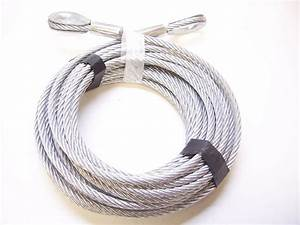 5  16 U0026quot  X 100 Ft Galvanized Wire Rope Cable With Thimble