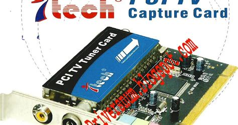 I Tech Pci Tv Tuner Card Driver+software Download