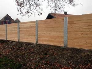 Gartenzaun Sichtschutz Holz : sichtschutzzaun aus holz und metall ~ Markanthonyermac.com Haus und Dekorationen