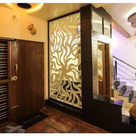 designer mdf partition jali  rs  square feet