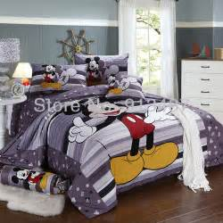 shop popular queen size mickey mouse bedding from china aliexpress