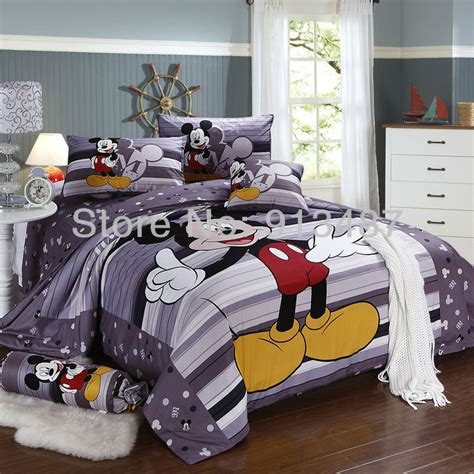 Size Mickey Mouse Bedding by Shop Popular Size Mickey Mouse Bedding From China