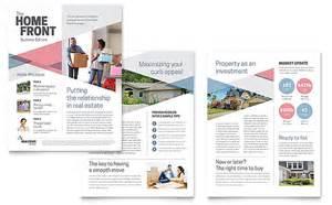 newsletter designer realtor newsletter template design