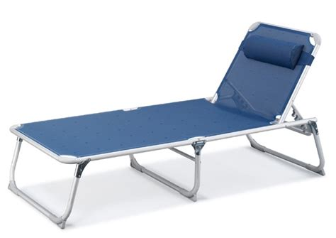 new sunbed lounger folding with pillow lounge wide