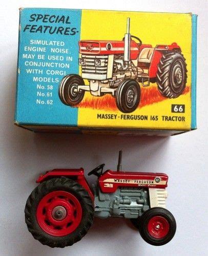 corgi toys  britains massey ferguson  farm tractor  toys pedal cars scale models rc