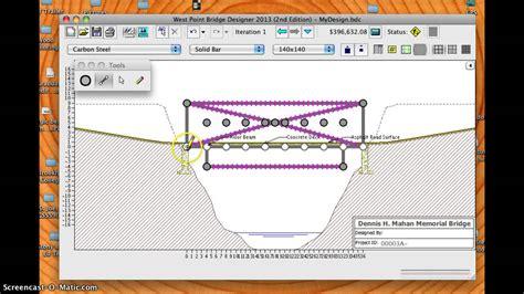 west point bridge designer 2014 west point bridge designer 2103 updated