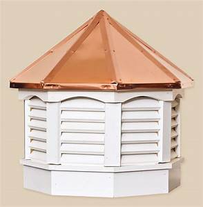 Octagon gazebo series cupolas portable buildings inc for Cupola toppers