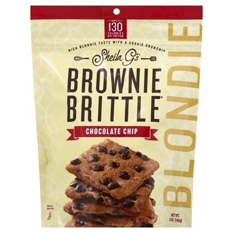 Sheila Gs Blondie Chocolate Chip Brownie Brittle 5 oz ...