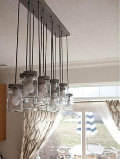 diy pottery barn jar chandelier made by my hubby