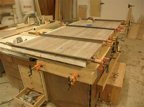 joining slabs   dining table woodworking talk