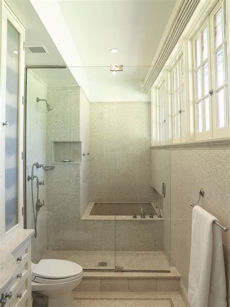 Shower And Tub Combo Bathroom Contemporary With Modern New