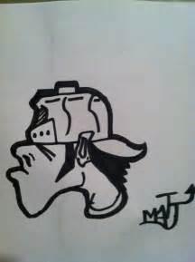 Easy Graffiti Characters Drawings