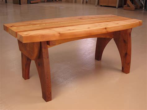 woodworking bench plans curvy cedar outdoor bench