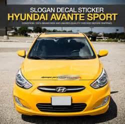 avante sport logo slogan decals sticker covercolor