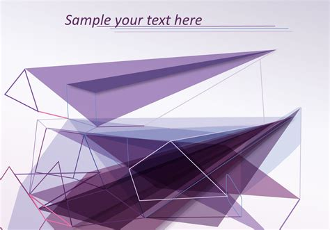 abstract with lines and shapes free vector