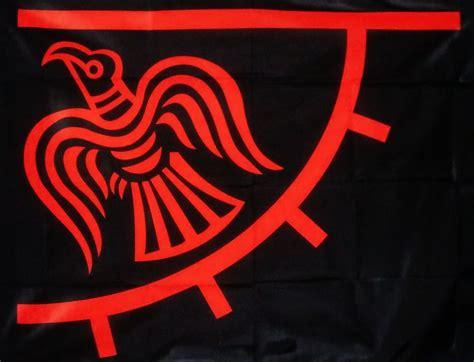 odinicraven viking raven banner    flag