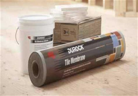 durock tile membrane kit durock tile membrane by usg
