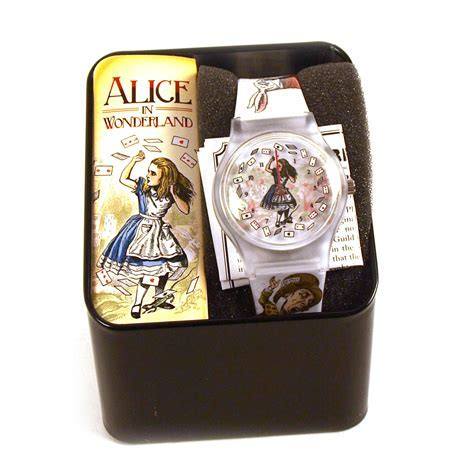 Alice In Wonderland Wristwatch   Pink Cat Shop
