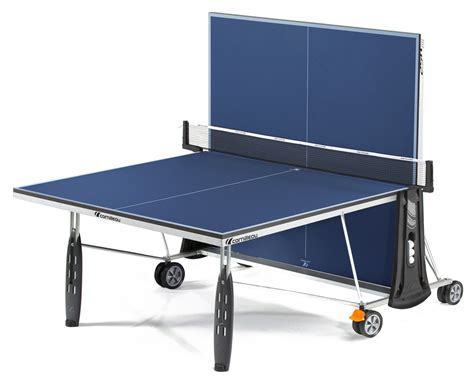ping pong table surface cornilleau 250 indoor blue ping pong table