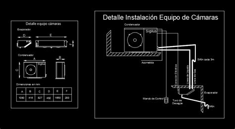 cold storage equipment dwg block  autocad designs cad