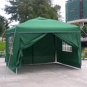 homdox 3 x 3m tente tonnelle pliante polyester auvent With tente pour jardin pas cher
