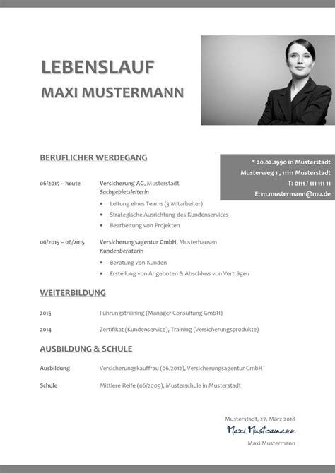 Vorlage Lebenslauf Bewerbung by Professioneller Lebenslauf Vorlage Word