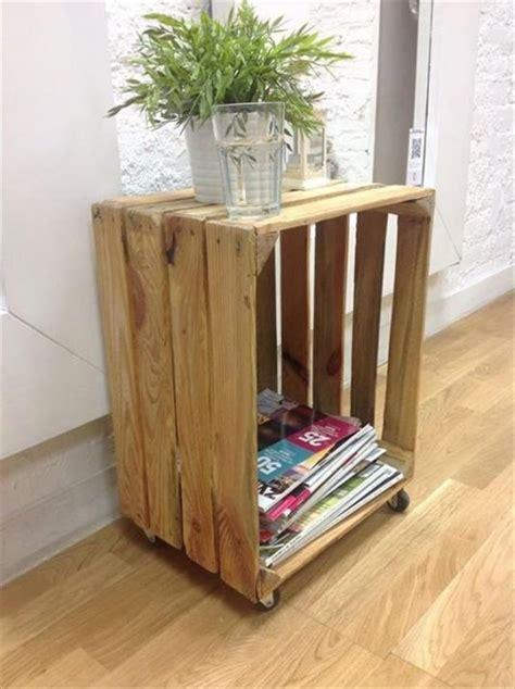 diy wooden crates furniture design ideas