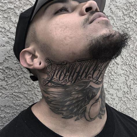 neck tattoos  men  women designs