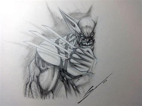 Wolverine Sketch By Sandovalart On Deviantart