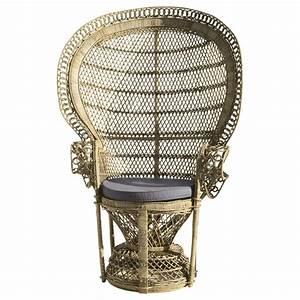 Fauteuil Maison Du Monde : fauteuil en rotin emmanuelle maisons du monde ~ Teatrodelosmanantiales.com Idées de Décoration