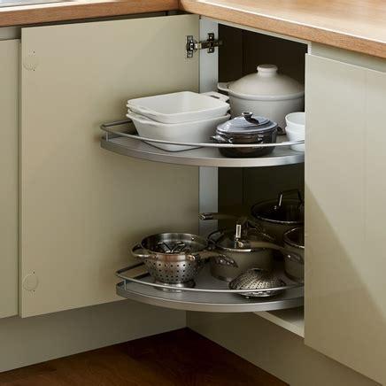 corner carousel kitchen storage solutions howdens