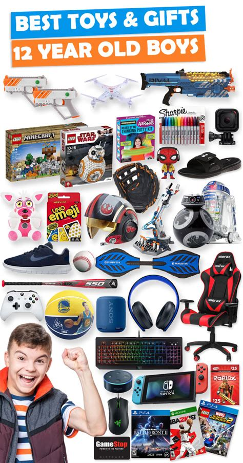 gifts for 12 year boys 2019