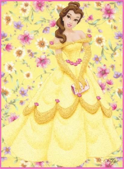 Belle Princess Disney Glitter Graphics Cartoons Animated