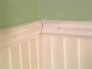 How to install beadboard wainscoting how tos diy for Installing wainscoting in bathroom