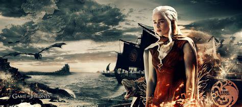 game  thrones khaleesi wallpaper  ahmetbroge  deviantart