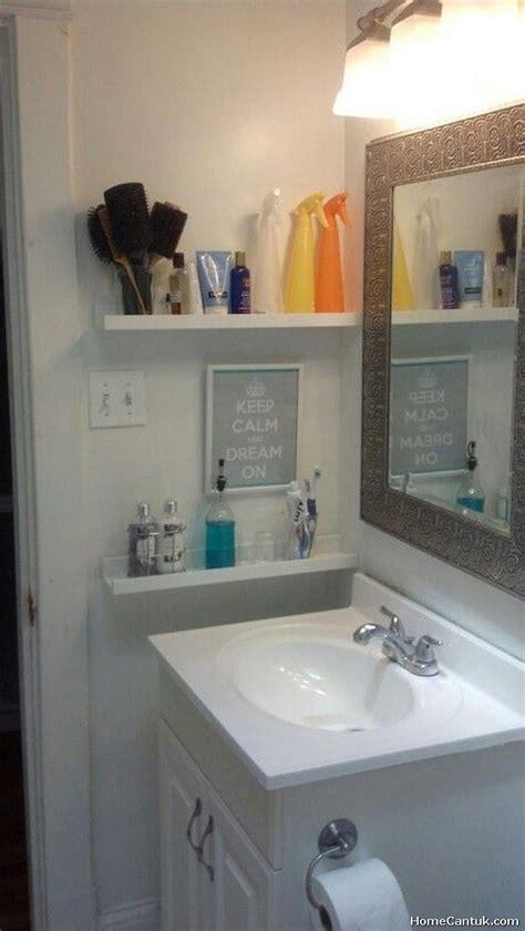 Easy Bathroom Ideas by 85 Smart And Easy Bathroom Storage Ideas Homecantuk