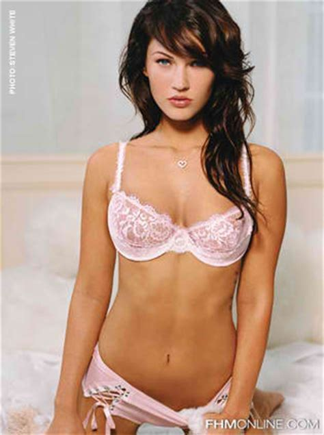 Wear Your Lingerie The Sexy Megan Fox Way Steal The Style