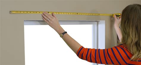 measuring for blinds how to measure for blinds on a door the finishing touch
