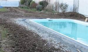 Pose De Dalle Sur Sable : plage piscine dalle sur sable ~ Melissatoandfro.com Idées de Décoration