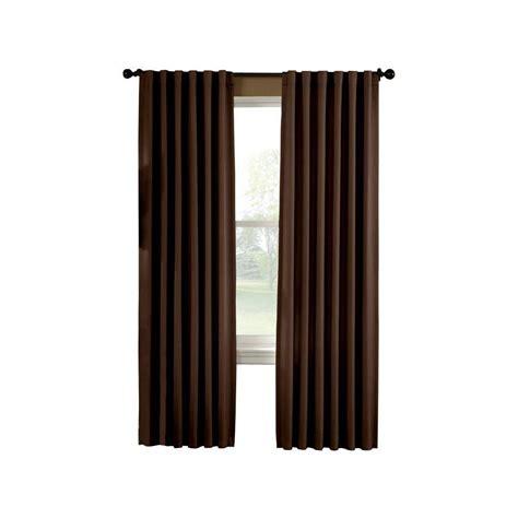 curtainworks semi opaque chocolate saville thermal curtain