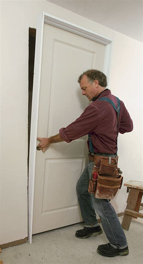 how to install a prehung door troubleshooting a prehung door installation