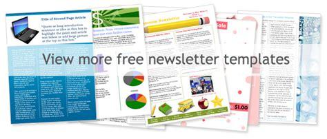 Free Church Newsletter Templates Microsoft Word - Costumepartyrun