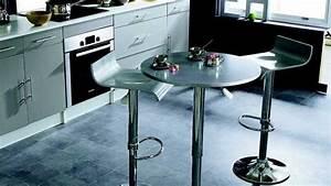 Table Haute Cuisine Ikea : 10 tables pour les petits espaces ~ Teatrodelosmanantiales.com Idées de Décoration