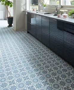 Sol Vinyle Cuisine : carreaux de ciment cuisine nos id es pour d corer la ~ Farleysfitness.com Idées de Décoration