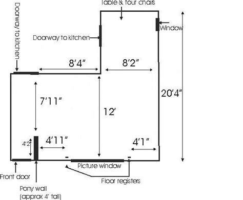 L Shaped Living Room Floor Plans by L Shaped Living Room Dining Room Furniture Layout Living