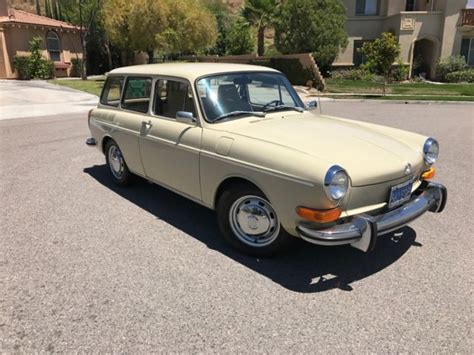 1971 Volkswagen Squareback Type 3 1600cc Fuel Injected All