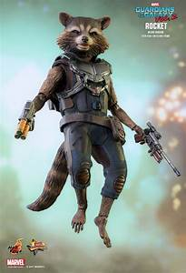 Hot Toys Rocket Raccoon Guardians Of The Galaxy Vol 2