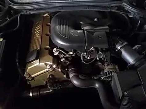 qb01767 bmw e46 318 2001 m43 engine testing